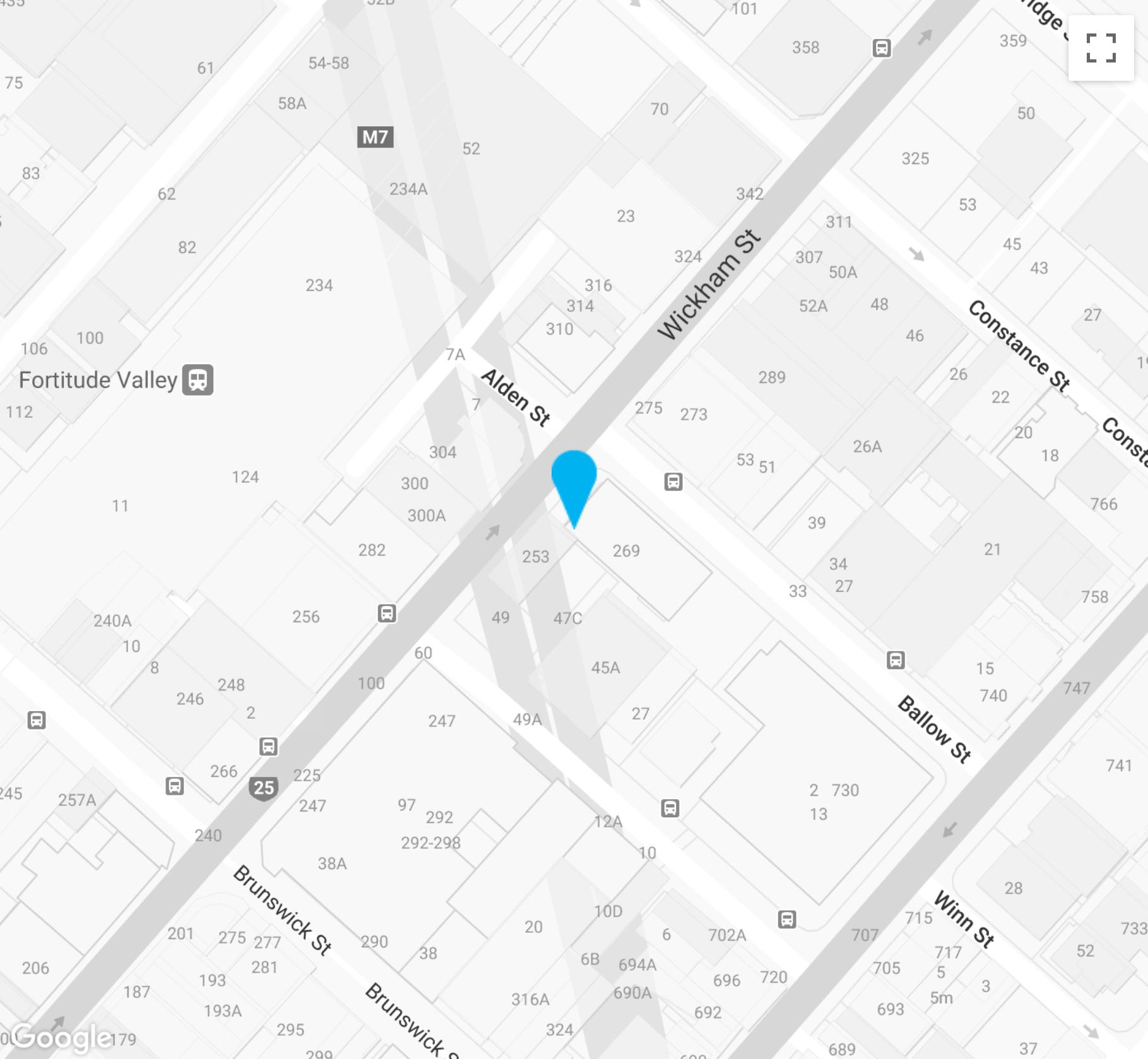 Brisbane office location