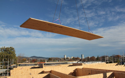 Designing with Cross Laminated Timber